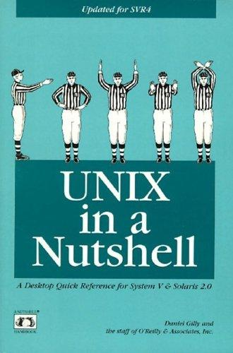 Download UNIX in a nutshell