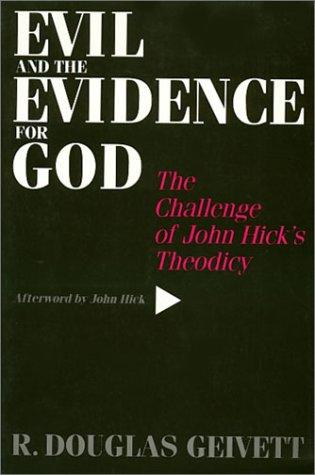 Download Evil and the evidence for God