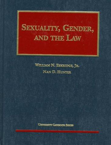 Sexuality, gender, and the law