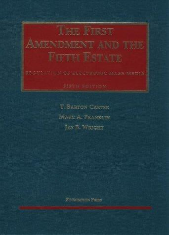 Download The First Amendment and the fifth estate