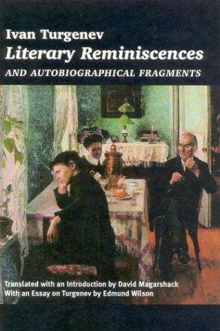 Download Literary reminiscences and autobiographical fragments