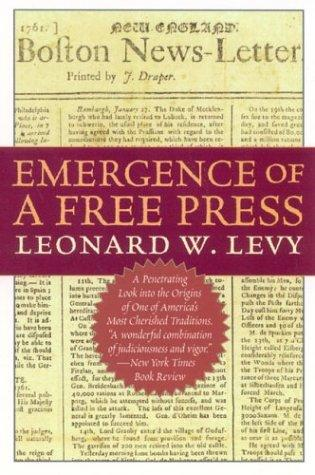 Download Emergence of a free press