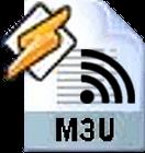 M3U-Wiedergabeliste