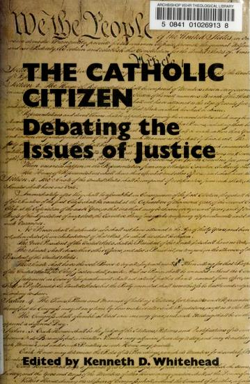The Catholic citizen by Fellowship of Catholic Scholars. Convention