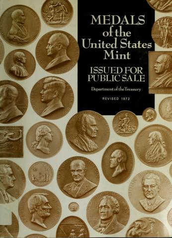 Cover of: Medals of the United States Mint | Kenneth M. Failor