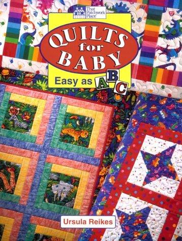Quilts for baby by Ursula Reikes