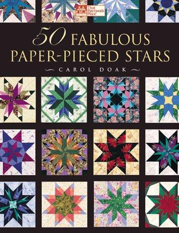 Image 0 of 50 Fabulous Paper-Pieced Stars: CD Included