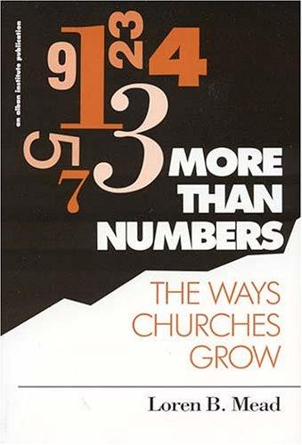 More than numbers by Loren B. Mead